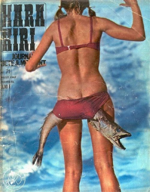 Girl Bikini Bottom Fish
